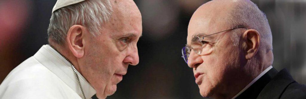 Papa Francesco Bergoglio Carlo Maria Viganò