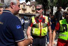 Il capo della Protezione civile Angelo Borrelli a Civita