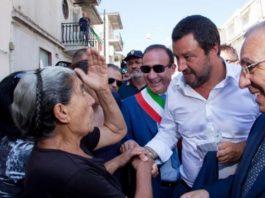 Salvini a San Luca: La ndrangheta è una schifezza