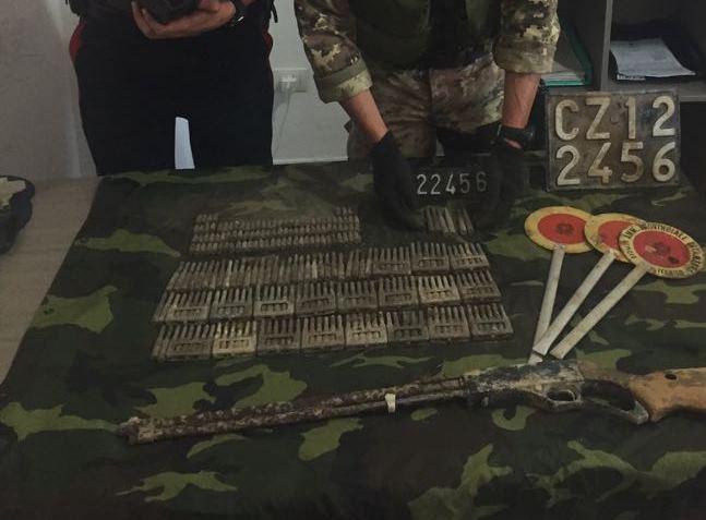 arma munizioni