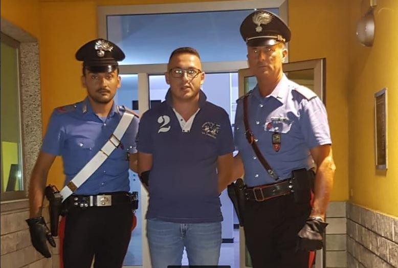 arresto di Simone Cuppari
