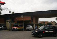 I carabinieri controllano la postazione 118 a Girifalco