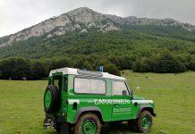 carabinieri forestali parco