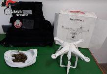 drone marijuana Borgo Nicotera
