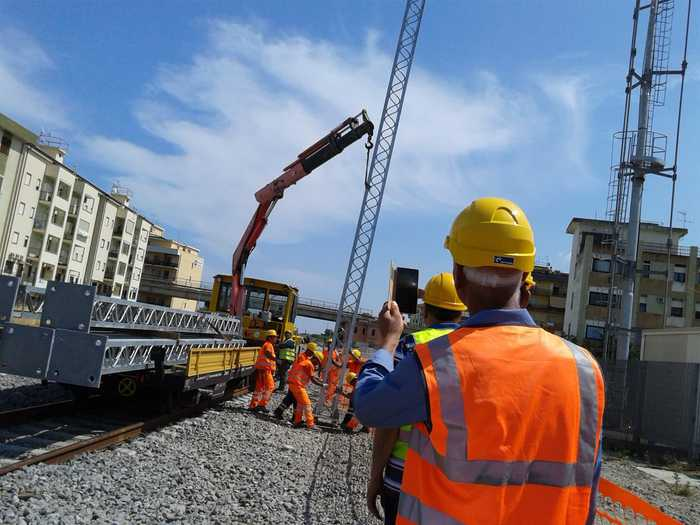 Consegna lavori e firma accordo-quadro per elettrificazione ferrovia Jonica
