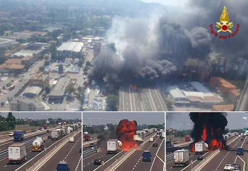 incidente autostrada Bologna