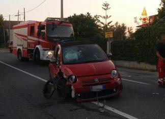 incidente statale 106