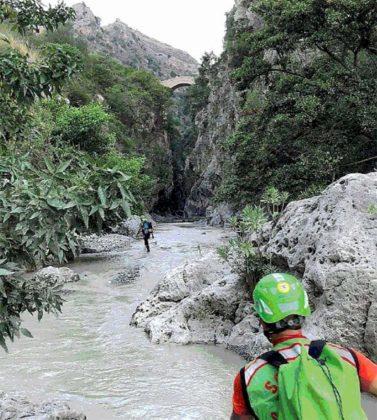 soccorritori torrente Raganello