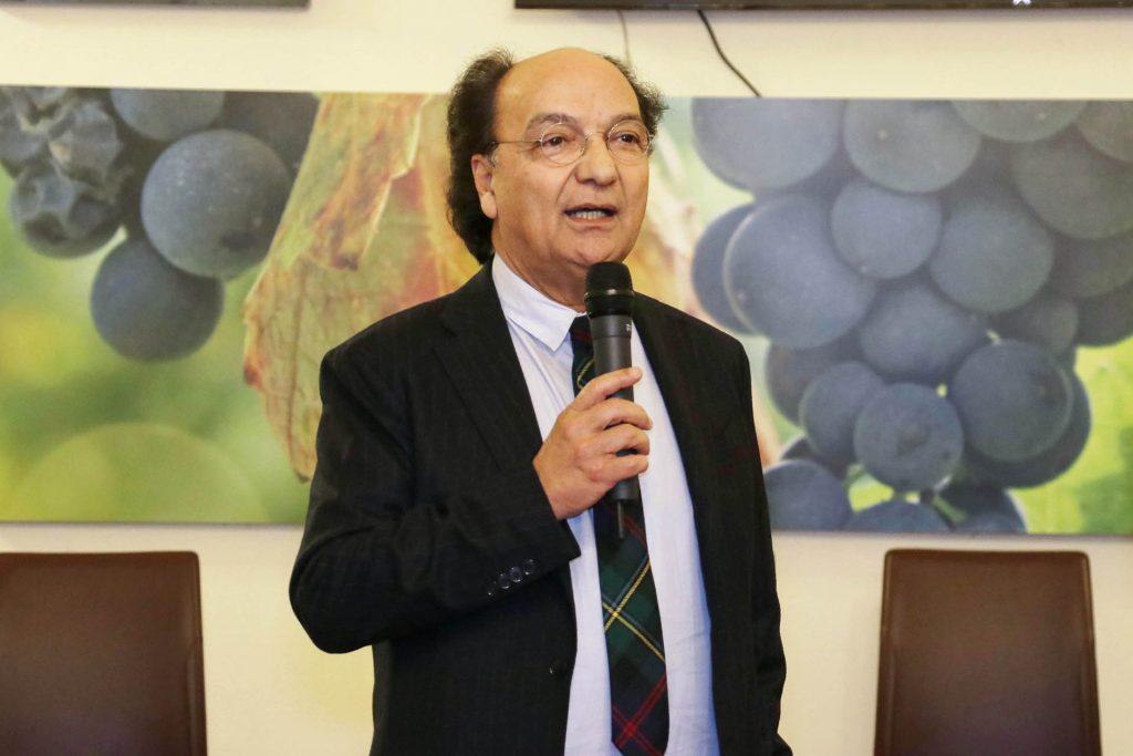 Il presidente del Cosenza calcio Eugenio Guarascio