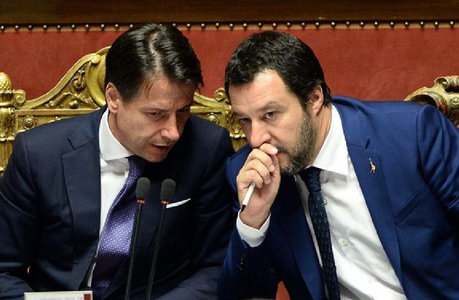 Giuseppe Conte Matteo Salvini