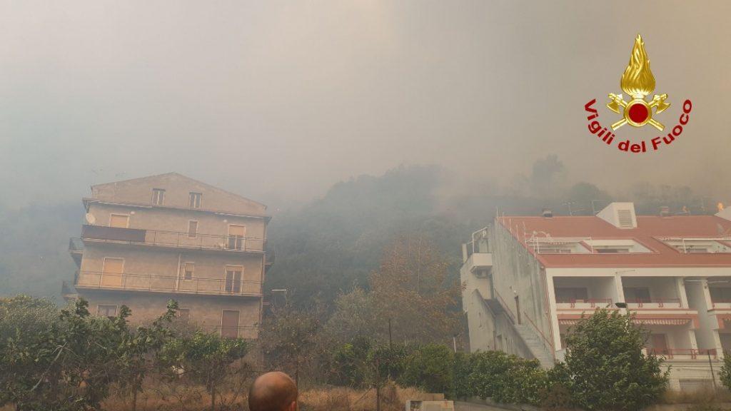 Incendio Guardia Piemontese