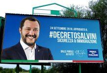 Matteo Salvini decreto sicurezza migranti