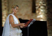 Monica Guerritore ad Armonie d'arte festival con Amore e Psiche