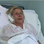 La moglie del dottor Martelli, Niva Bazzan, in ospedale