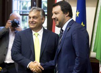 Orbán con Salvini