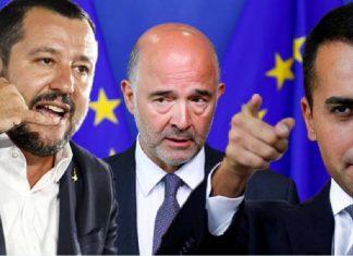 Salvini Moscovici Di Maio