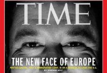 Il ministro Matteo Slavini nell'ultima copertina del magazine