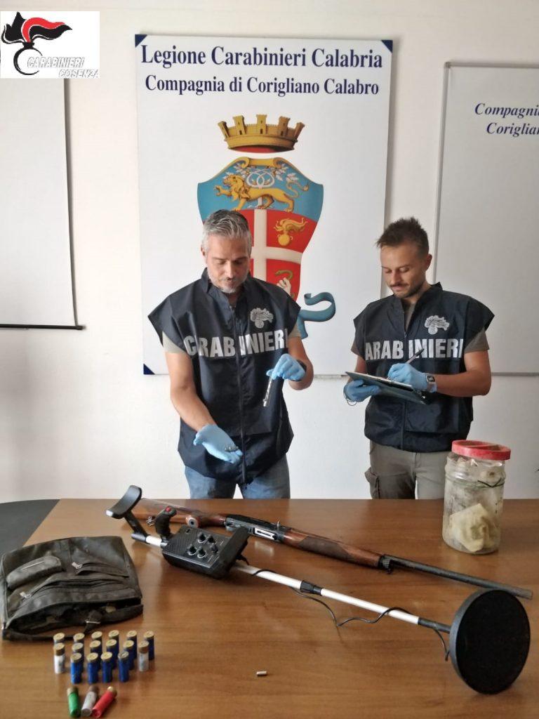 armi sequestrate corigliano