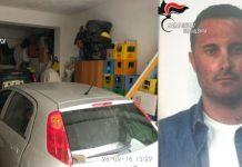 auto rubate Filippo Saragò