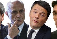 big PD Gentiloni, Minniti, Renzi Martina