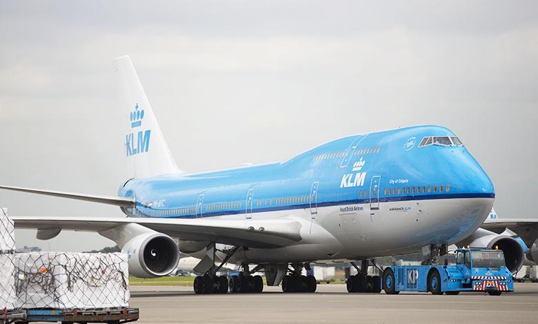 Un Boeing 747-400, simile a quello atterrato a Lamezia