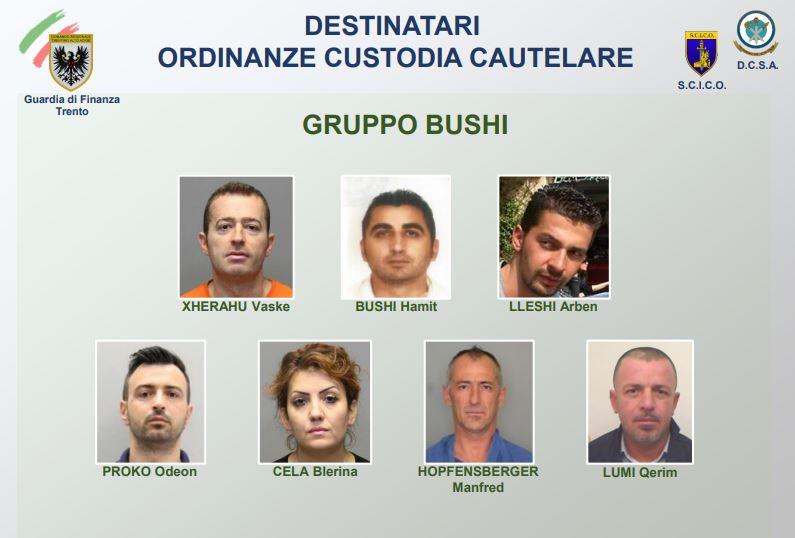 arrestati da gdf Trento