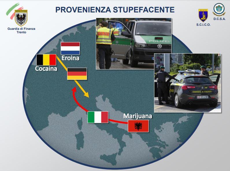 operazione Alba Bianca gdf Trento