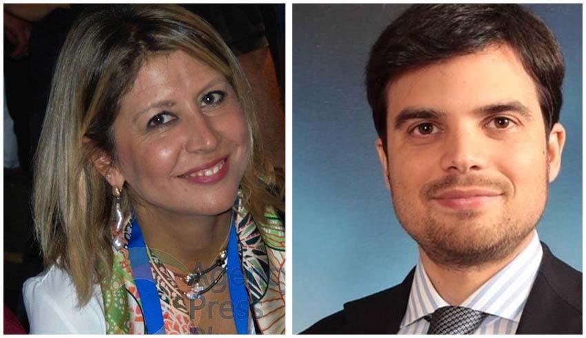 I consiglieri comunali Bianca Rende ed Enrico Morcavallo