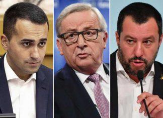 Di Maio Junker Salvini