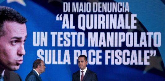 """Di Maio Porta a Porta """"manina"""" ha truccato il decreto fiscale"""