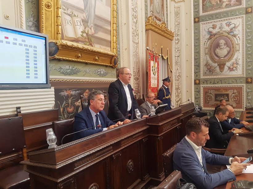 Il presidente della Provincia di Cosenza Franco Iacucci