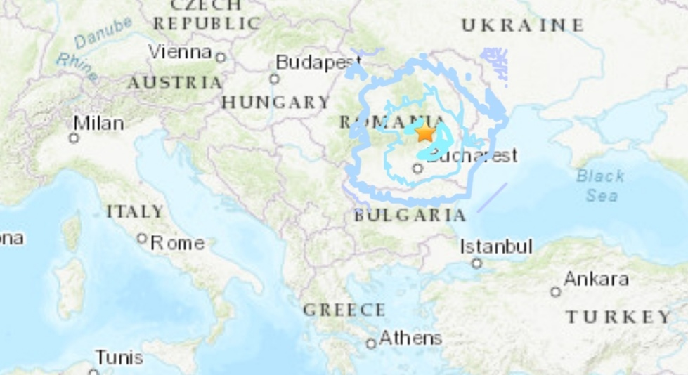 Terremoto in Romania