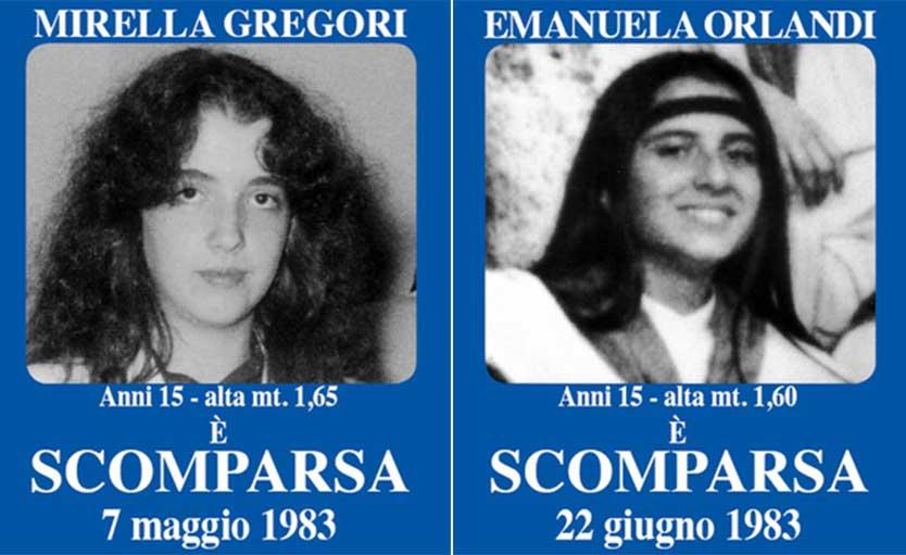 Mirella Gregori Emaunela Orlandi
