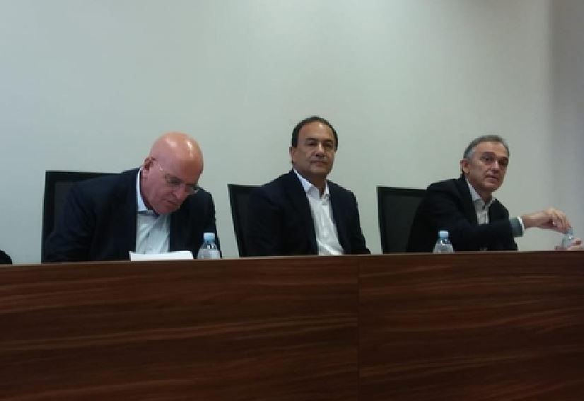 Oliverio, Lucano e Rossi