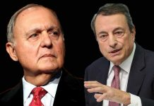 Paolo Savona e Mario Draghi