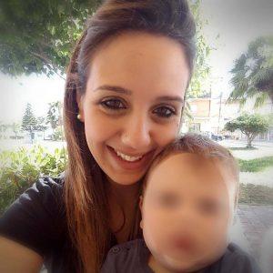 Stefania Signore con figlio
