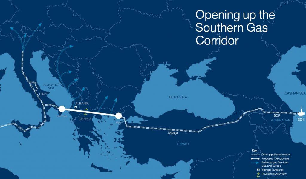 Tap Trans-Adriatic-Pipeline