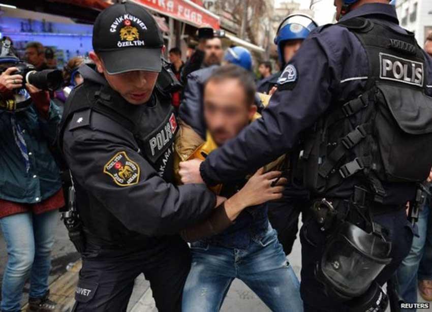 arresti in Turchia