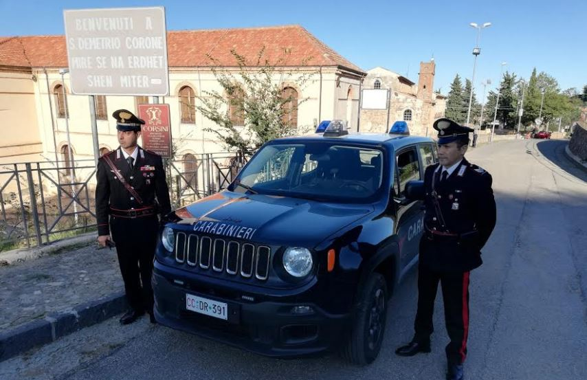 carabinieri san demetrio corone