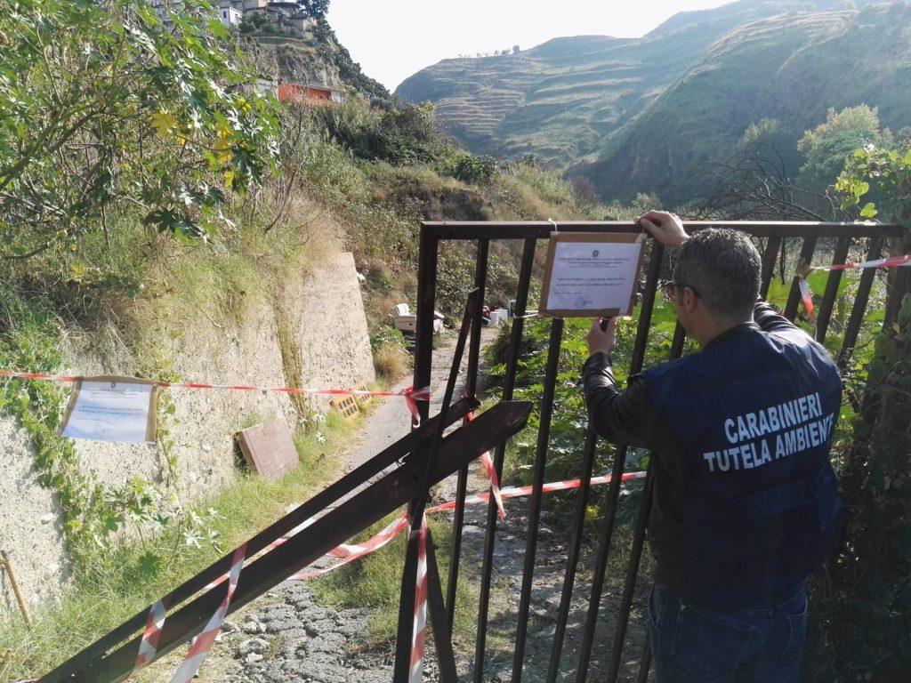 Sequestrata una discarica abusiva a Reggio