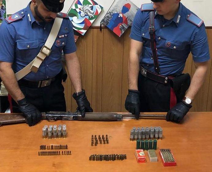 fucile munizioni