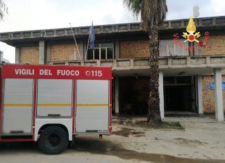 incendio scuola soverato