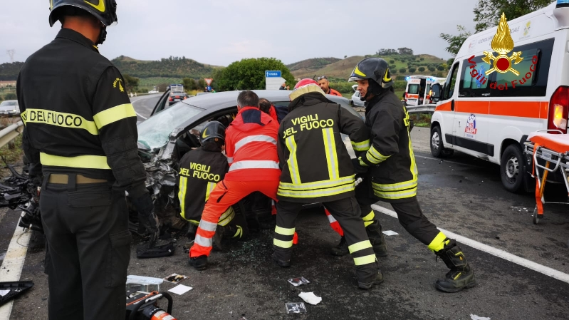 incidente 107 crotone