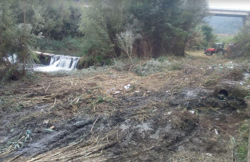 Prevenzione dissesto idrogeologico, lavori di bonifica sul fiume Busento
