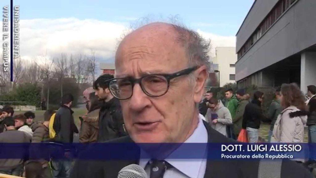 procuratore Luigi D'Alessio