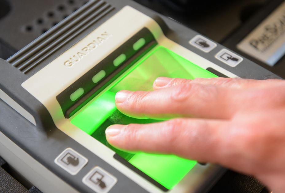 rilevatore impronte digitali