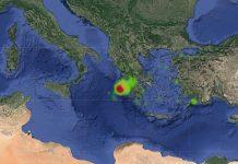terremoto in Grecia Zenta