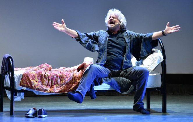 Beppe Grillo ora dormo