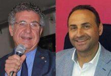 Da sinistra il sindaco di Fuscaldo Gianfranco Ramundo e il vice Paolo Cavaliere