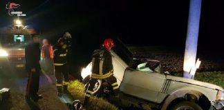 Incidente stradale San Giorgio di Piano